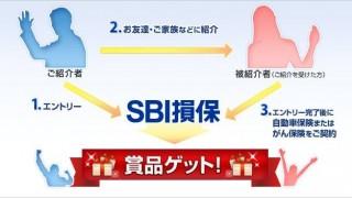 もれなく1000円分のギフトカードがもらえるSBI損保のご紹介プログラムはいかが?